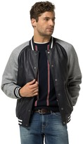 Tommy Hilfiger Leather Varsity Jacket