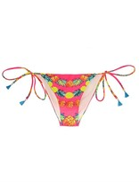 Mara Hoffman Garlands print bikini briefs