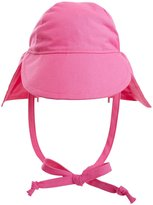 Flap Happy Original Flap Hat with Ties UPF 50+ - Candy Pink - Extra-Large