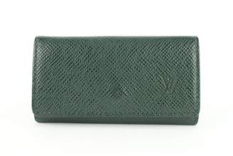 Louis Vuitton Green Leather Purses, wallets & cases
