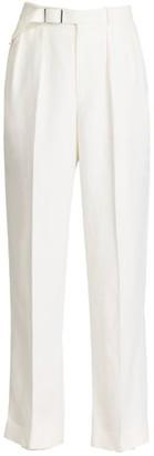 Ralph Lauren Harlee Belted Linen Pants