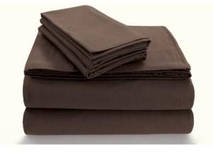 Tribeca Living Flannel Extra Deep Pocket Queen Sheet Set Bedding