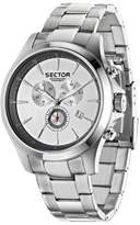 Sector Men's R3273690002 Contemporary 290 Analog Display Quartz Silver Watch