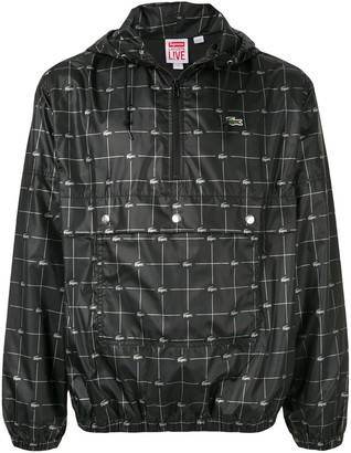 Supreme reflective grid jacket