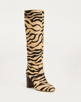 Thumbnail for your product : Loeffler Randall Goldy Tall Boot Tiger