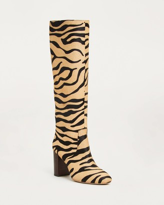 Loeffler Randall Goldy Tall Boot Tiger