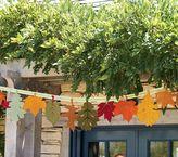 Thanksgiving Hanging Leaves Garland