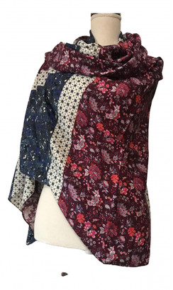 Liberty of London Designs Multicolour Wool Scarves