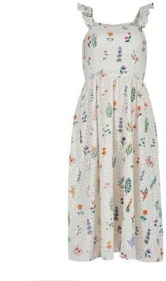 Summer Herbs Picnic Dress