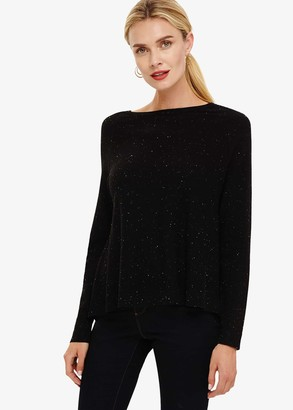 Phase Eight Terza Fleck Swing Knitted Jumper