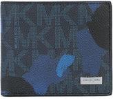 Michael Kors camouflage Jet Set billfold wallet