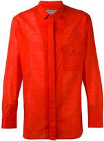 Yohji Yamamoto chest-pocket shirt - men - Cotton - 4