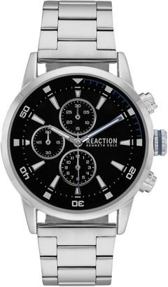 Kenneth Cole Reaction Men's Silvertone Watch