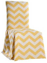 Nobrand No Brand Chevron Dining Room Chair Slipcover