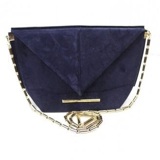 Roland Mouret Navy Suede Handbags