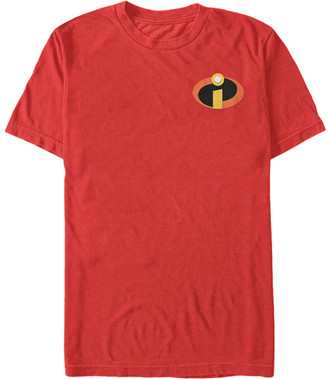 Fifth Sun Men's Tee Shirts RED - The Incredibles Red Logo Accent Tee - Men