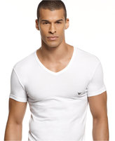 Emporio Armani men's underwear, classic eagle v-neck Undershirt