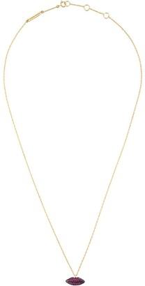 Delfina Delettrez 'Lips' rubies necklace