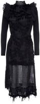 Vivienne Black Cocktail Statement Dress