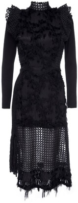 Lahive Vivienne Black Cocktail Statement Dress