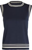 ADEAM Sailor Sleeveless Cotton Sweater
