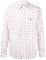 Etro checked shirt