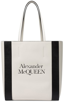 Alexander McQueen Signature Medium leather shopper