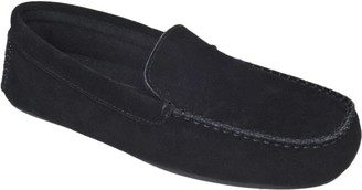 L.B. Evans Men's Suede Slippers - Darren