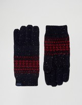 Jack Wills Donegal Fairisle Glove