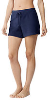 Lands' End Women's Terry Shorts Cover-up-Multi Violetta Floral