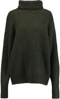 Tibi Mélange wool-blend turtleneck sweater