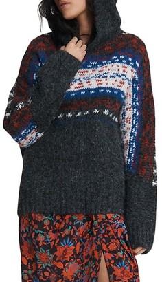 Rag & Bone Finlay Alpaca-Blend Hooded Sweater