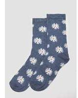 Dorothy Perkins Womens Denim Daisy Socks- Unspecified