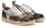 Pépé glitter laceless shoes