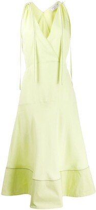 Proenza Schouler White Label Racerback Flared Dress