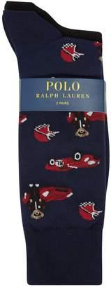 Polo Ralph Lauren Crew Socks (Pack of 2)