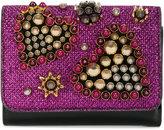 Christian Louboutin Macaron bead embellished wallet