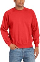 Fruit of the Loom Mens Lightweight Raglan Sweatshirt (240 GSM) (L)
