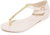 Melissa Honey Chrome Sandals