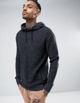 SikSilk Hoodie In Reverse Flannel