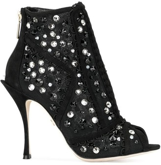 Dolce & Gabbana Bette ankle booties