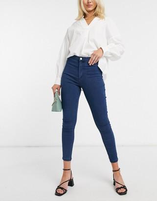 Vero Moda skinny jeans in blue