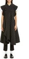 Comme des Garcons Polka Dot Backless Apron Dress
