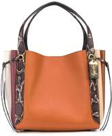 Coach Harmony colour-block tote bag