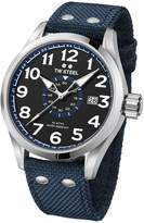 TW Steel Men's 'Volante' Quartz Stainless and Nylon Dress Watch, Color:Blue (Model: VS31)