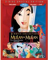 Disney Mulan 15th Annniversary Blu-ray and DVD Combo Pack