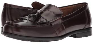 Nunn Bush Denzel Moc Toe Kiltie Tassel Slip-On KORE Walking Comfort Technology (Black) Men's Slip-on Dress Shoes