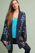 Anthropologie Coraline Beaded Kimono