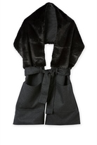 Country Road Faux Fur Belted Scarf