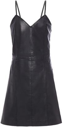 Muu Baa Muubaa Leather Mini Dress